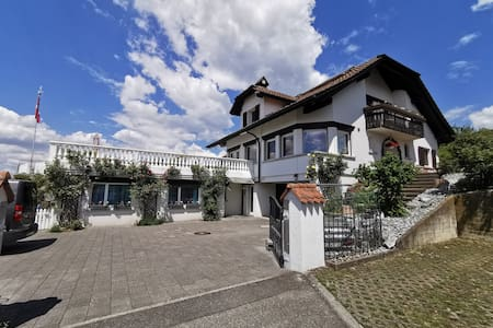 Mountain view premium suite in villa near Lucerne