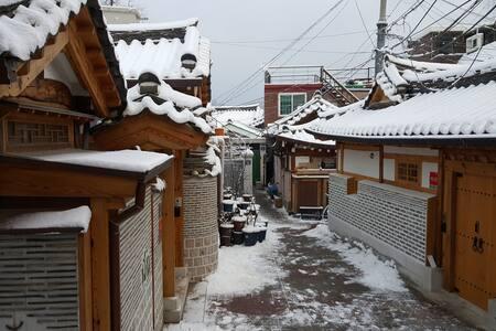 Quiet Room in Historic Neighborhood - Jongno-gu - Wohnung