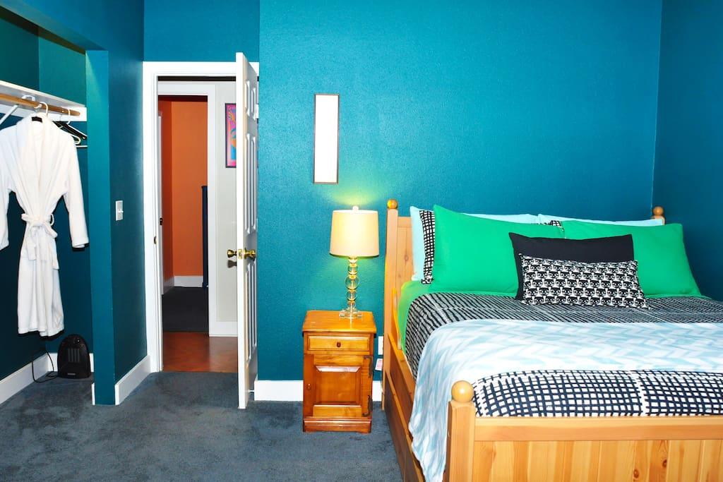 Sea Blue Room