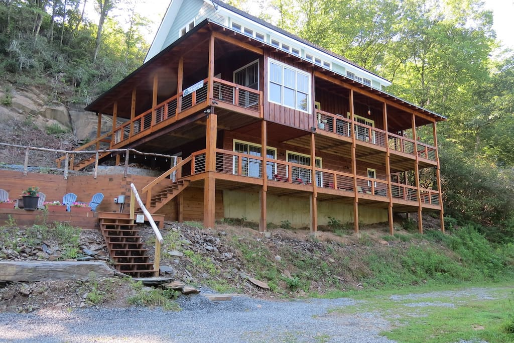 The Toccoa Riverfront Vacation Homes For Rent In Blue