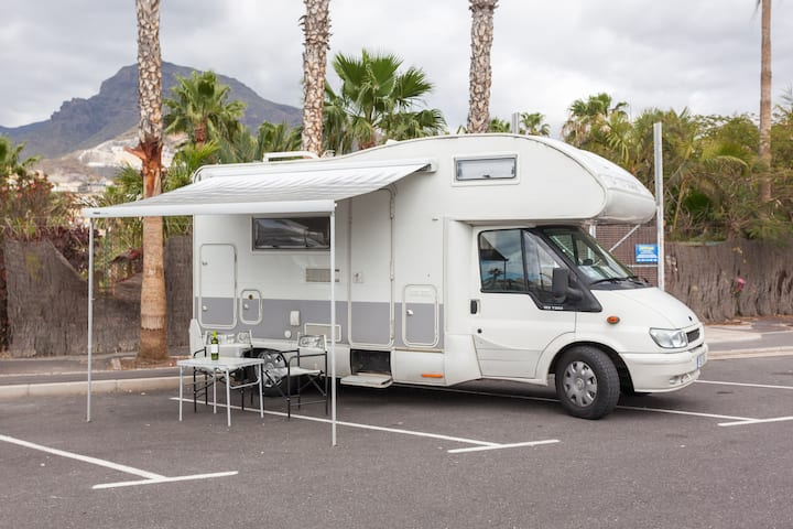 Caravan (with AC & WiFi) for your Tenerife Holiday