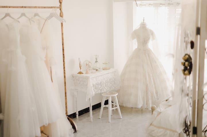 【夏•致】room7 婚礼主题 唯美 仙气  1号线奥体中心地铁口300米