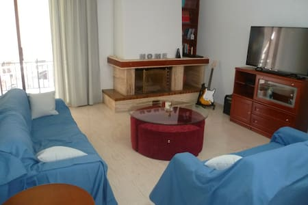 Spacious, Sunny, Family-friendly - Argiroupoli - Apartemen