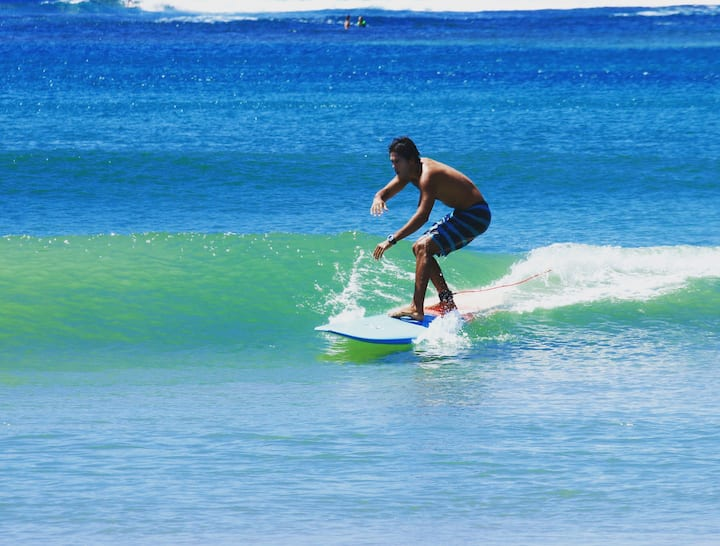 Glide over fun, warm waves!