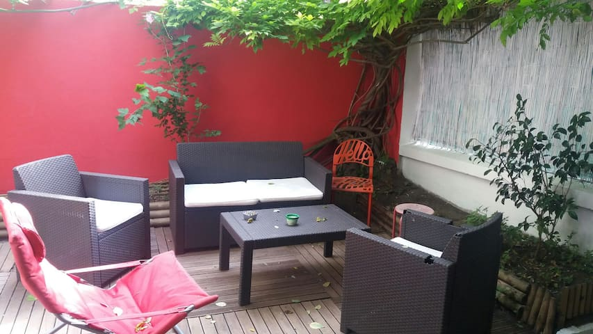 Very nice townhouse with garden - Clichy - Casa