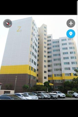 울산 동구 방어동/일산해수욕장 근처/4성급 호텔급 풀-아파트 Ulsan Dong-gu