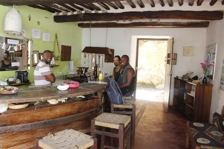 Ruby Backpackers Ilha de Mozambique private rooms