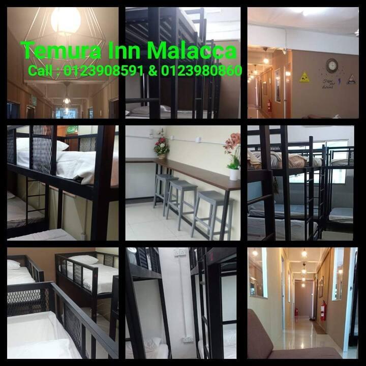 TEMURA INN  : Cheapest Hostel, Klebang B, MALACCA