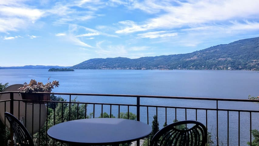 Beautiful view on Lake Maggiore - Verbania - Apartament
