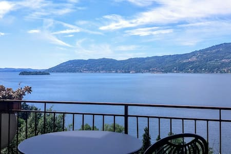 Beautiful view on Lake Maggiore - Verbania