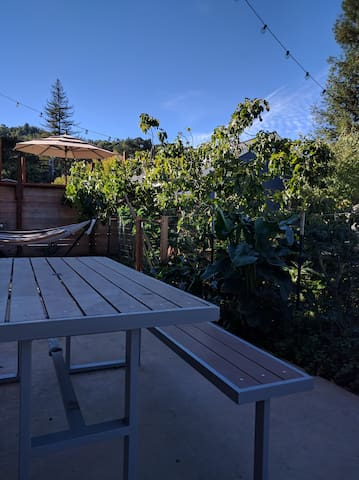 Quite garden flat in San Rafael - San Rafael - Apartment