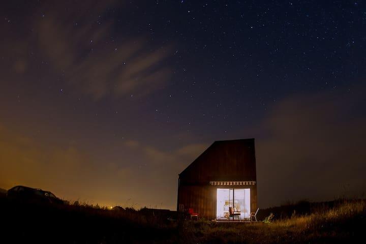 Japońska stodoła w zieleni 40 minut od Warszawy