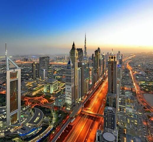 Private room in heart of Dubai City