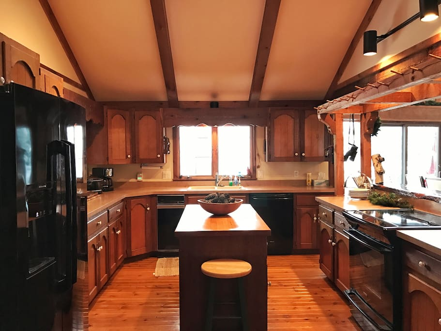Chefs Kitchen with everything needed for a great dinner party