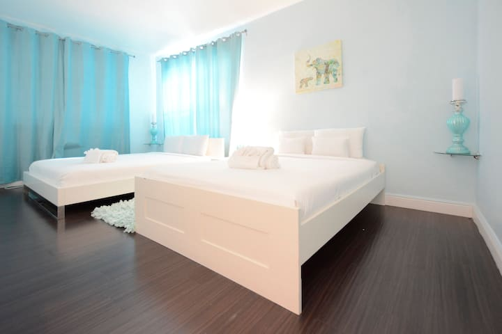 South Beach Drexel Apt with Double Beds - หาดไมอามี - อพาร์ทเมนท์