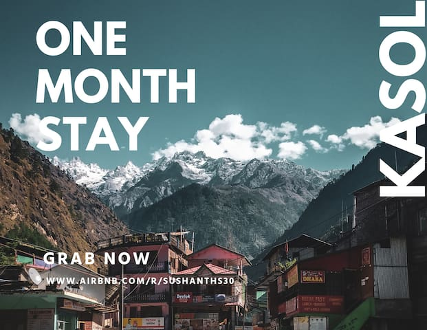 Friends room for a MONTH -Parvati valley