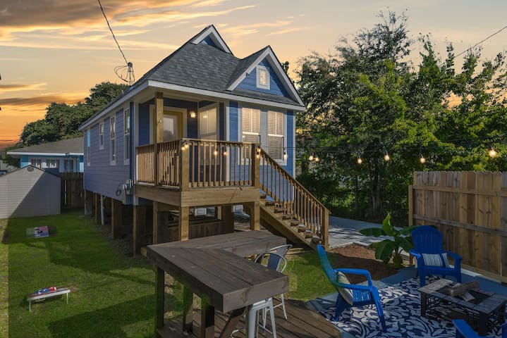 ❤️ Plum Tiny House Galveston❤️