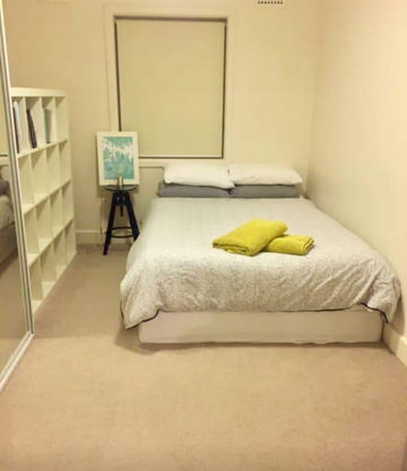 Second room - queen bed