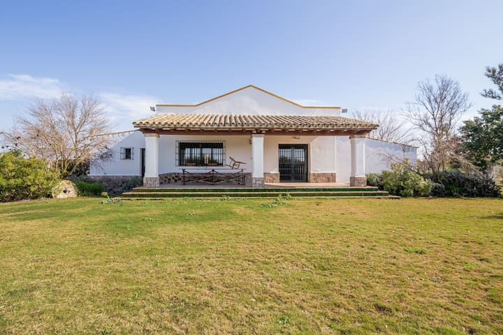 Waterfront Villa in Jerez de la Frontera with Fireplace