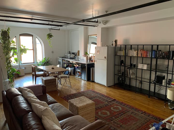 Light filled loft in the heart of Williamsburg
