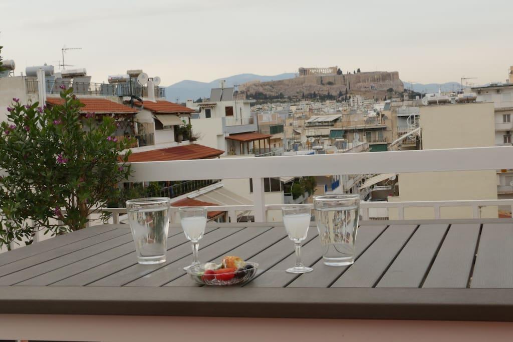 Acropolis View!
