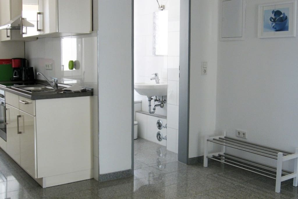 Küche und Flur