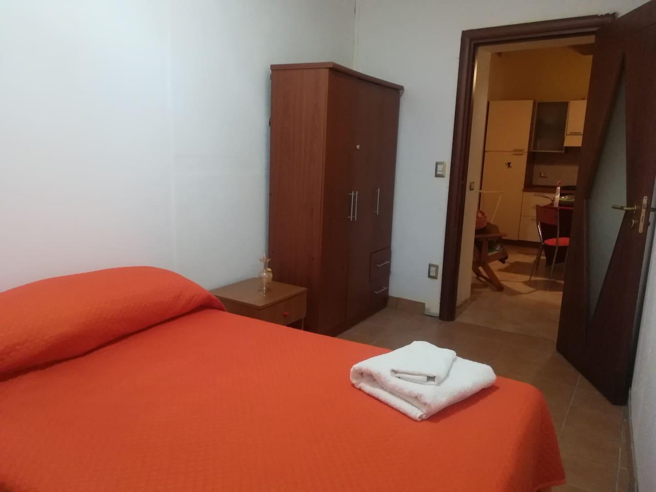 Camera da letto, prima versione