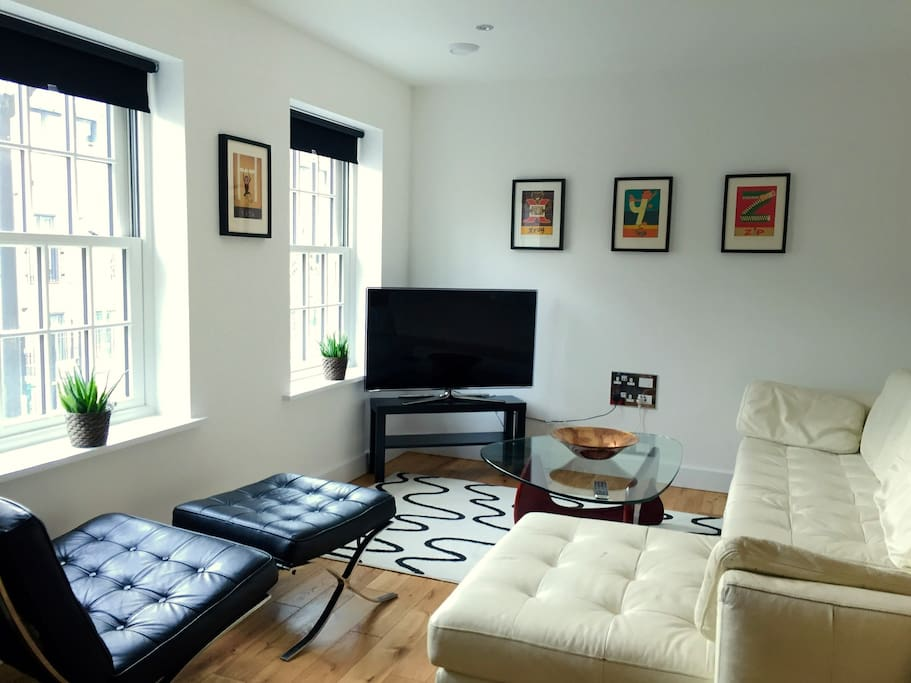 The comfortable sitting room
