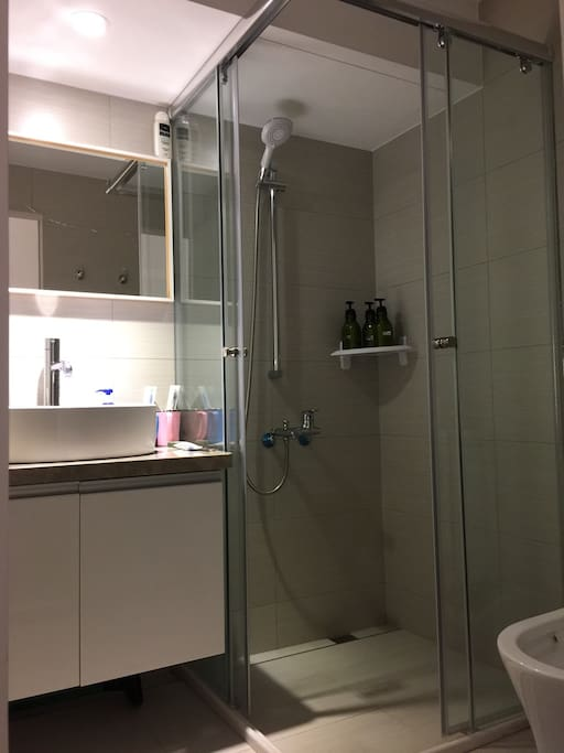 Wet and Dry separation of sanitary equipment. 乾濕分離衛浴設備 (獨立式)