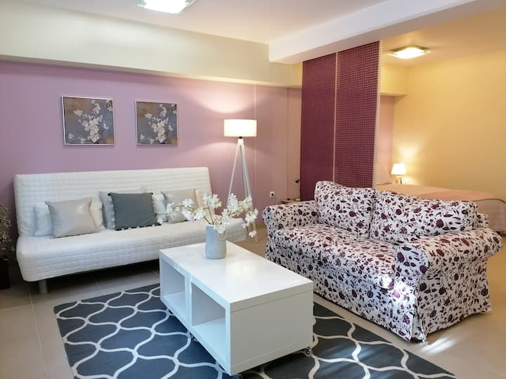 Modern fully equipped Studio Apartment