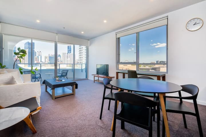 💎Great CityView 2BR 2Bath w/ Free Wifi&Parking💎