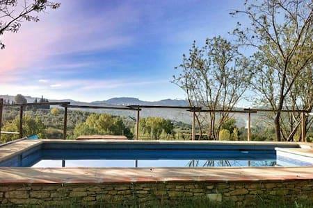 Acogedora casa con preciosas vistas - Arriate - Rumah