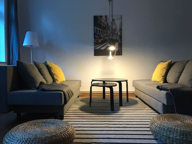 Sonniges Apartment mit Balkon im Szeneviertel
