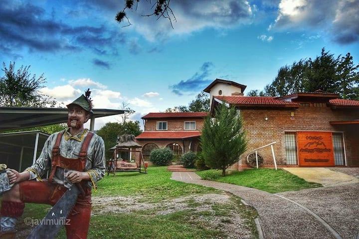 Habitación Doble Standard Hotel Antiguo Camino V.G.Belgrano