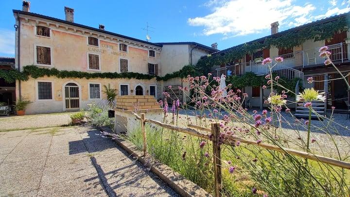 Gardasee Ferien auf dem Bauernhof  ferienwohnungen