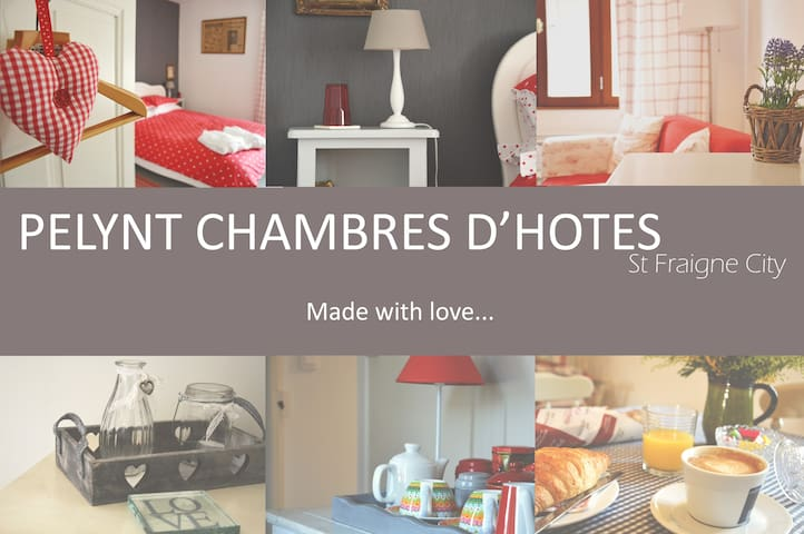 A Bed & Breakfast in the Poitou Charentes - St Fraigne - Bed & Breakfast