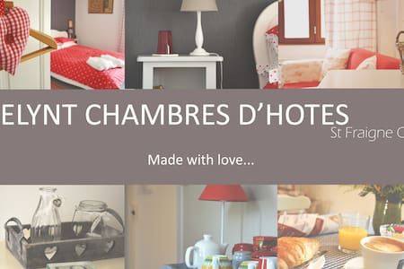 A Bed & Breakfast in the Poitou Charentes - St Fraigne - 家庭式旅館