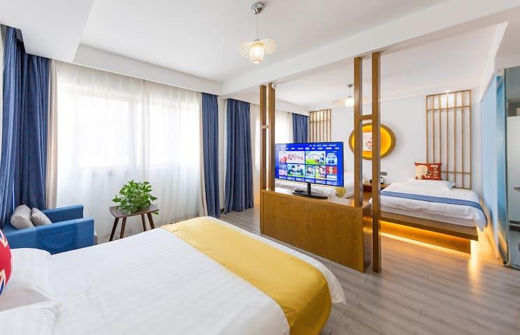 1.6+1.6+1.3米三张床