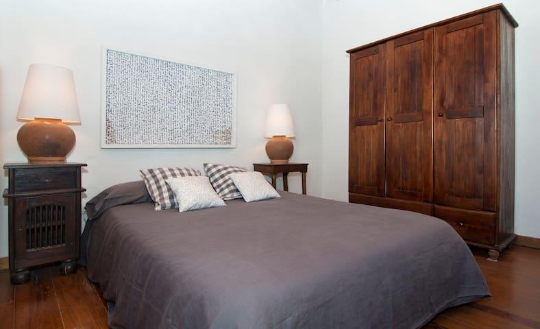 Habitación principal, colchón de 1,35X1,80cm.