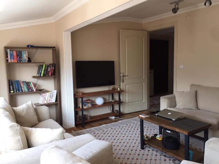 A very warm home ambient close to city center