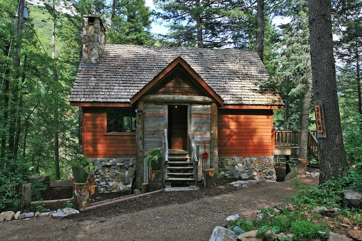 Conifer Creek- Over the River and Through the Woods, Fireplace, Hot Tub