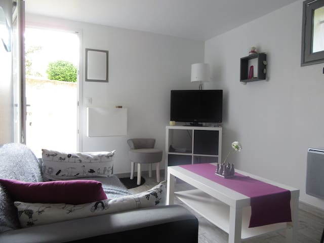 Appartement cosy avec extérieur proche La Rochelle - Puilboreau - Apartamento