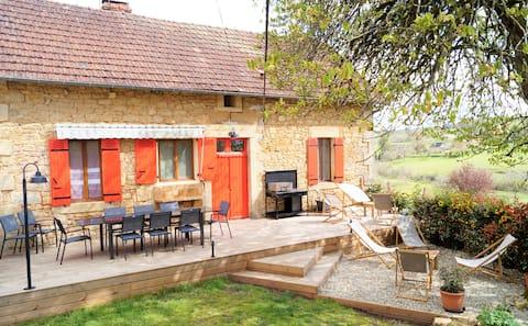 Alessentiel - Gîte 8 personnes - Dordogne