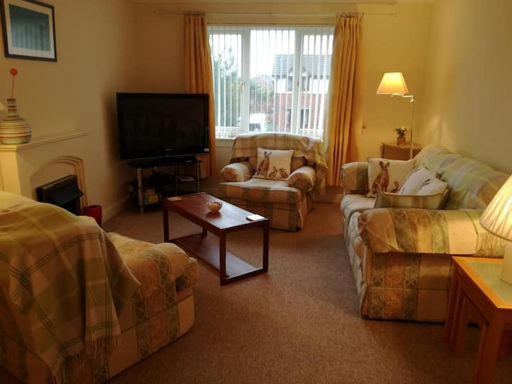 Handy base to explore Troon and surrounding areas