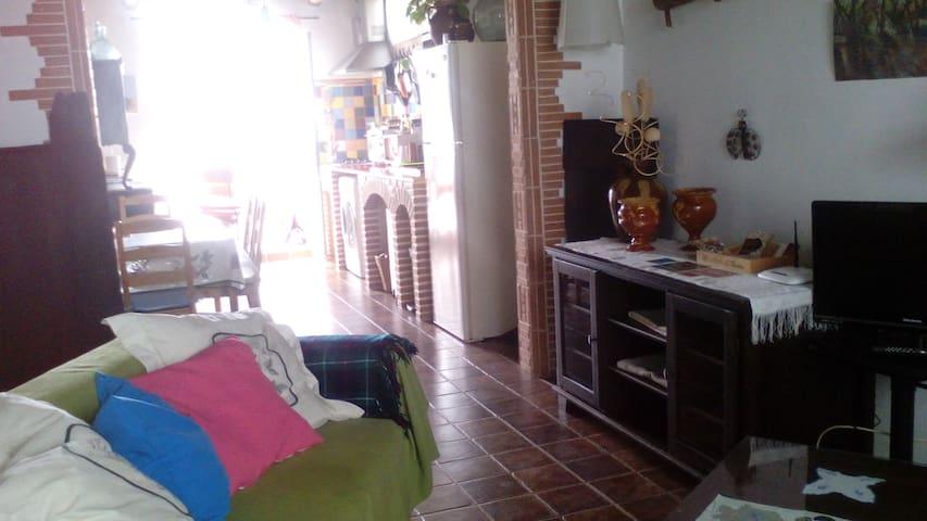 Casapapika casa rural Fuenteheridos - Fuenteheridos - Huis