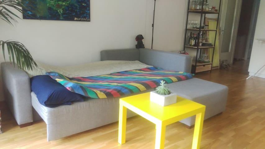 Sofa as a sleeping place