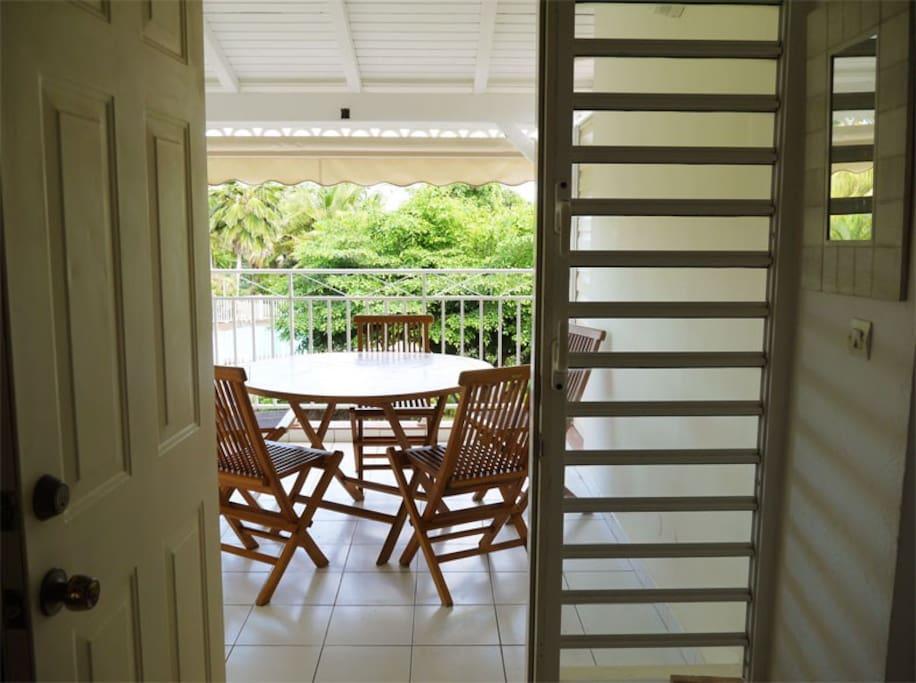 terrasse dining room