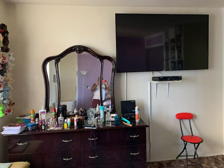 Private bedroom in condo