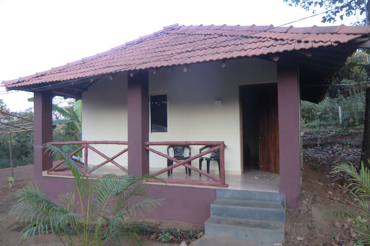 Bungalow with kitchen for 2 @ Soul Haven Agonda - Agonda - บังกะโล