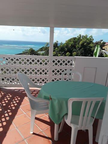 Belle location vue mer, calme ,  et agréable